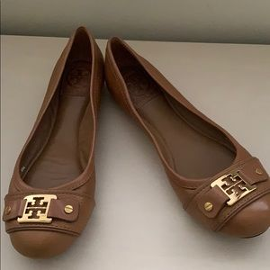 Authentic Tory Burch Clines Ballet Flats